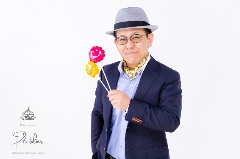 鈴木茂行様(岩手県大船渡市)|婚活支援サービス恋の予感・お見合い・占い|プロフィール写真撮影