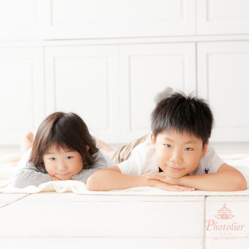 秋田県大館市の家族写真