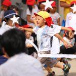 仙台の保育園の運動会の写真
