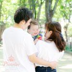 仙台の家族写真