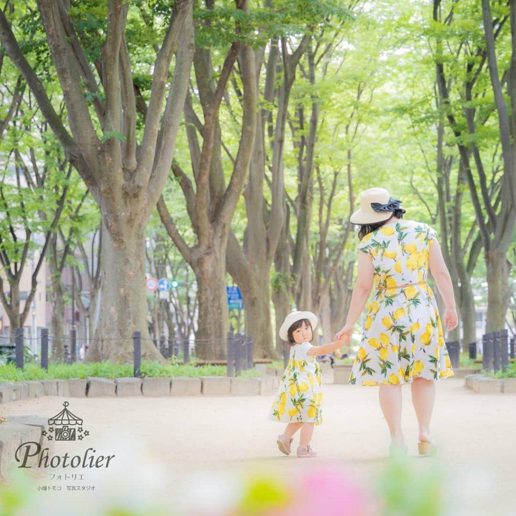 仙台のロケーションフォト西公園にて